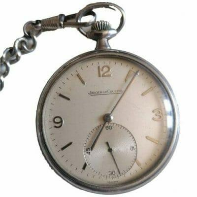 montre à gousset de collection, Jaeger Lecoultre Brocante Castres