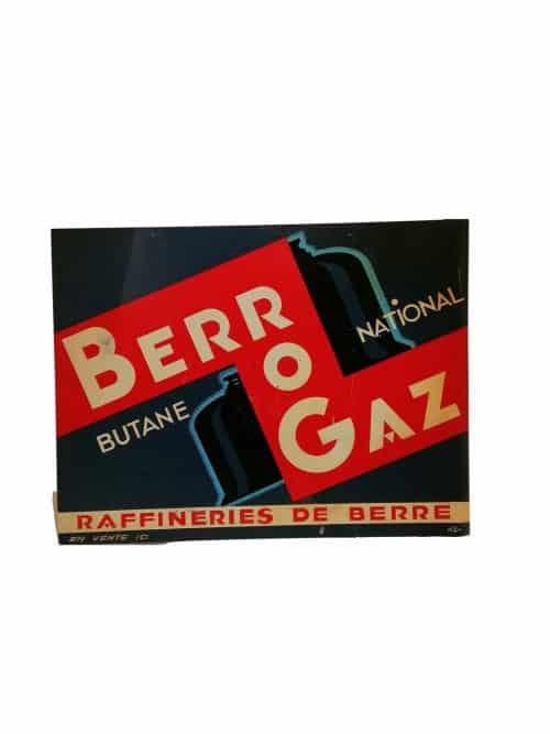 Plaque Ancienne berrogaz illustrée par rogerio Brocante Castres