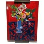 Roger Bezombes | plaque émaillée vintage | ancienne plaque émaillée | brocante castres Tarn | Vintage French Art